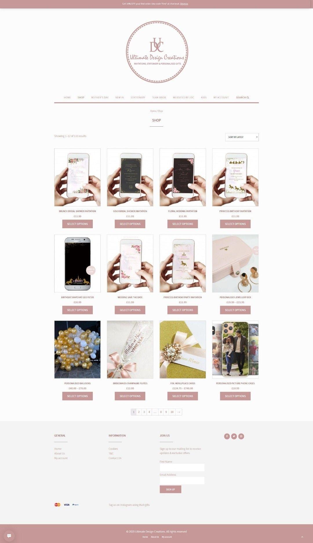 WordPress Website | Web Designer | Custom E-commerce WordPress Website | Online Web Design Store | Ecommerce Store | Custom Graphic Designer
