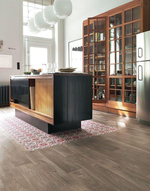 Revêtement sol cuisine  19 modèles de sol pour une cuisine au top