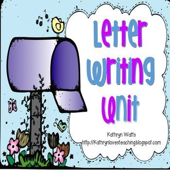 Letter Writing Writing lessons, Vocabulary cards and 21st