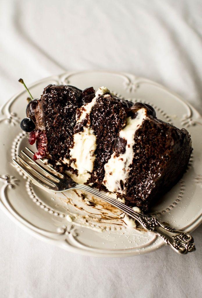 Black Forest Gateau Recipe 1 Pinterest Black Forest Cake