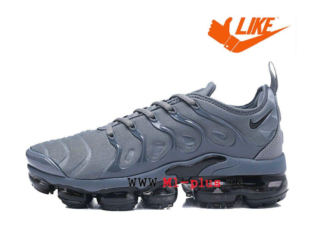 Chaussures de Basketball Nike Prix Pour Homme Nike-Air-VaporMax-Plus Tn Gris