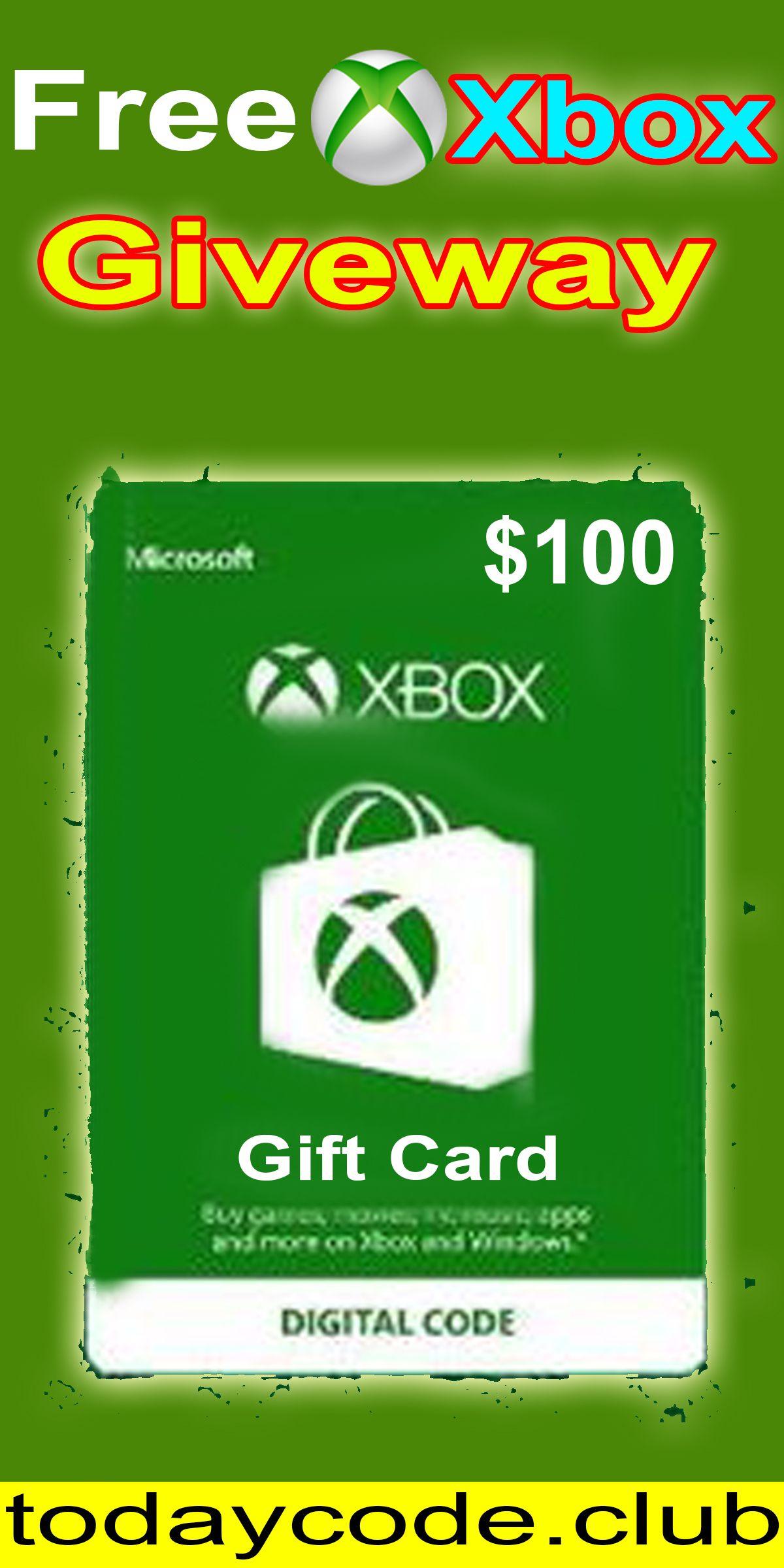 Xbox redeem code generator free Xbox gift card codes