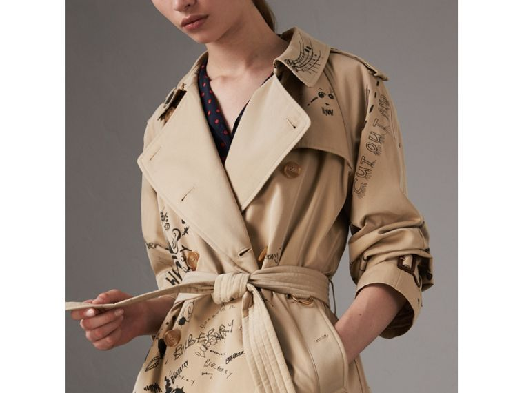 Image result for BURBERRY PRINT TRENCH COAT