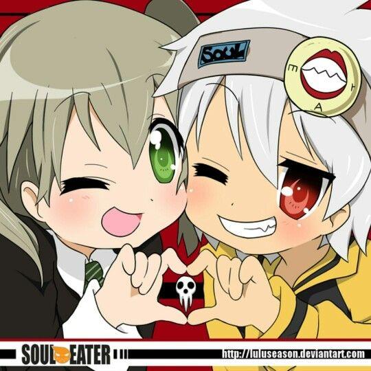 Maka & Soul are so cute
