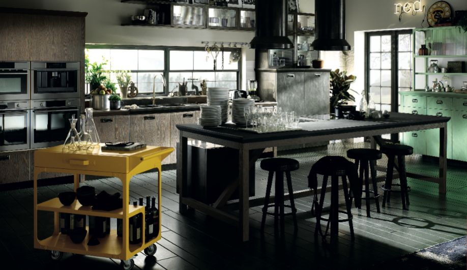IDS2014 Diesel Social Kitchen by #Scavolini (at the #Dekla booth ...
