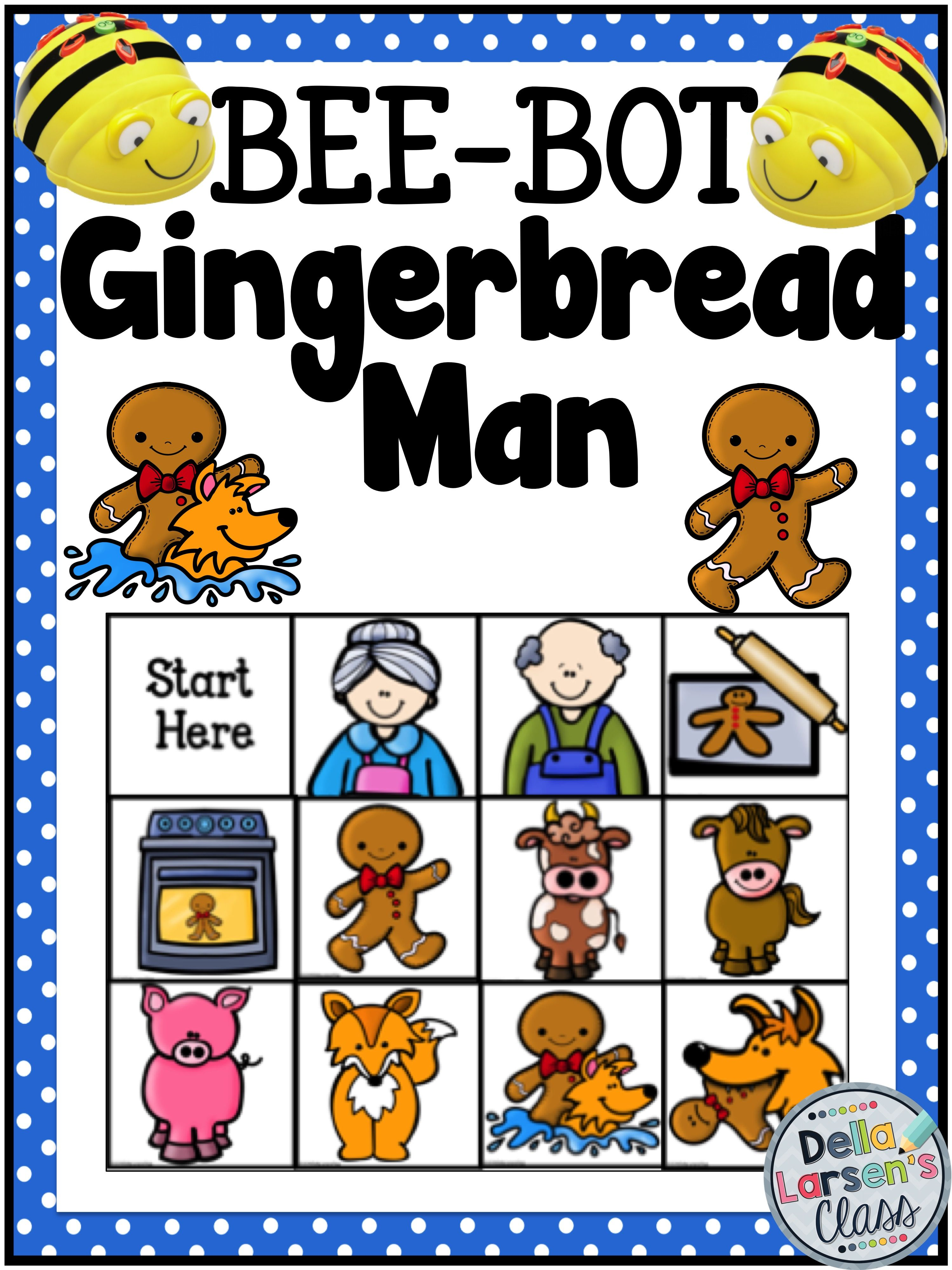 Beebot Gingerbread Man Re Tell