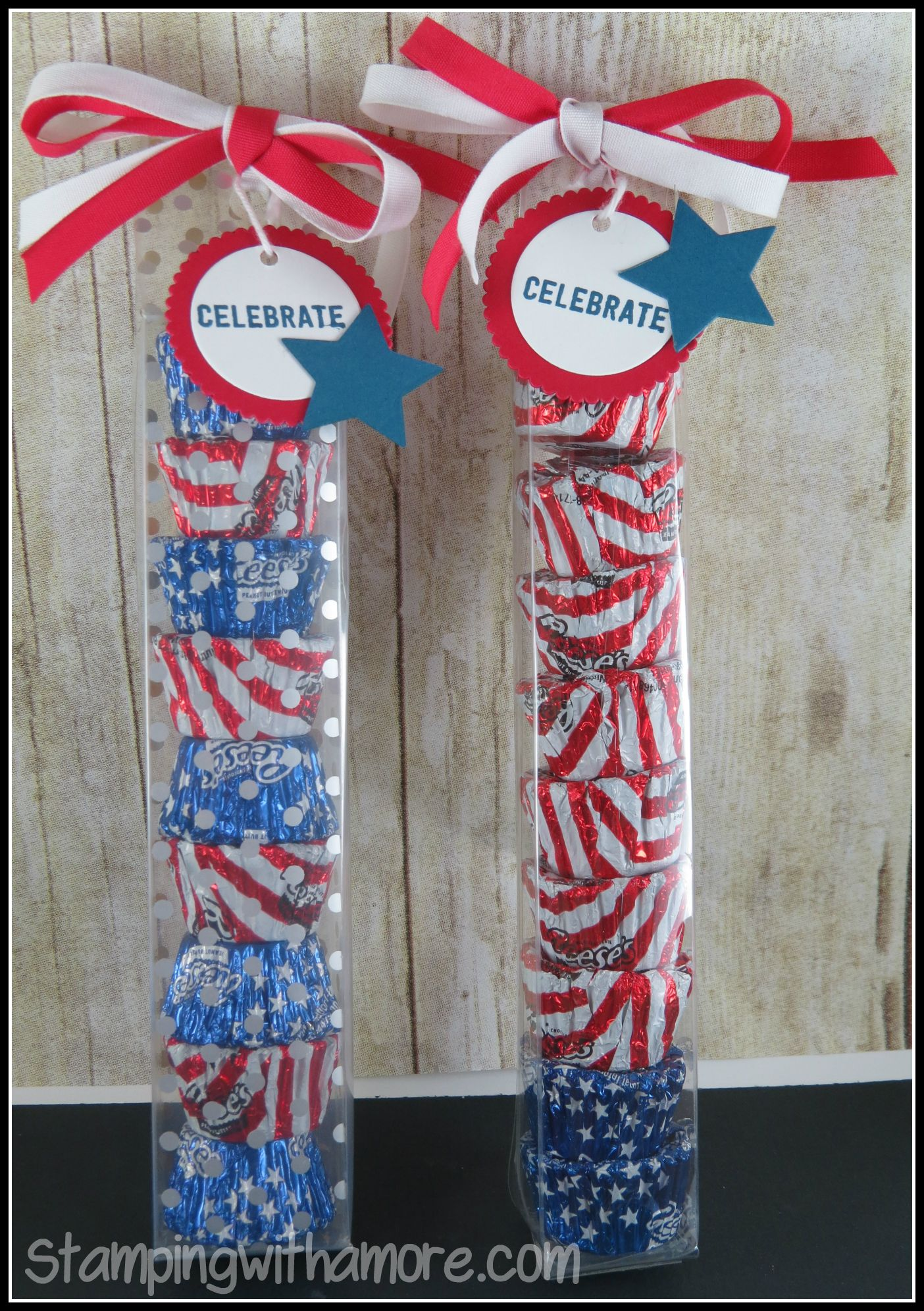 Stampinup Firecracker 4Th Of July Treat Box How To Video At