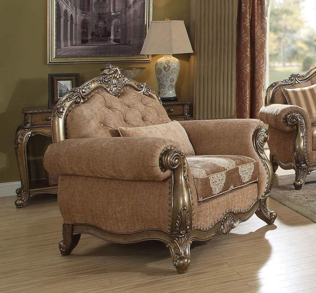 Ragenardus Vintage Oak Chair Poltrona