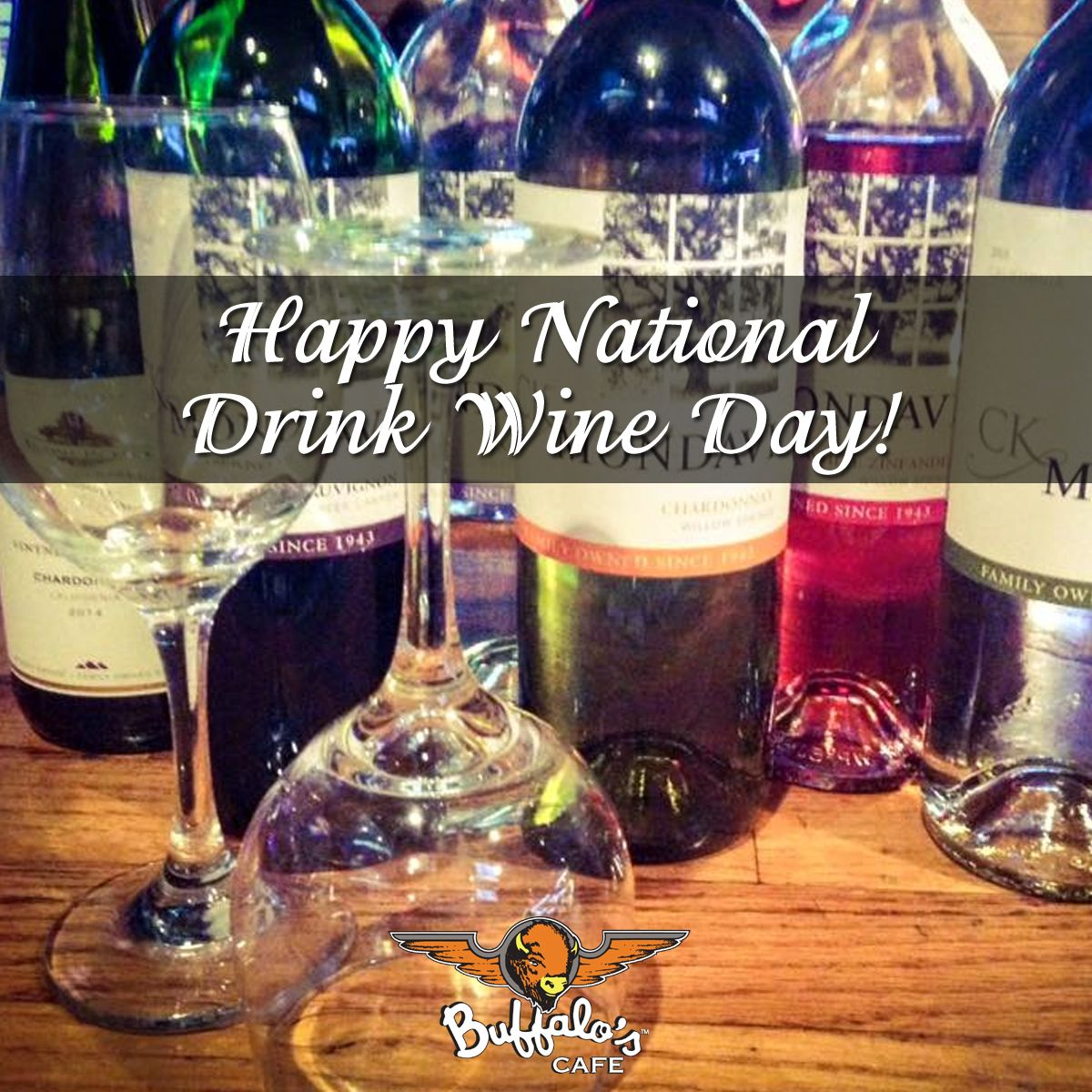 It's National Drink Wine Day! One of our favorite days