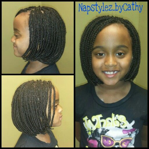 Bob Plaits For Kids Natural Hair Tips Hair Hacks Natural Hair Styles