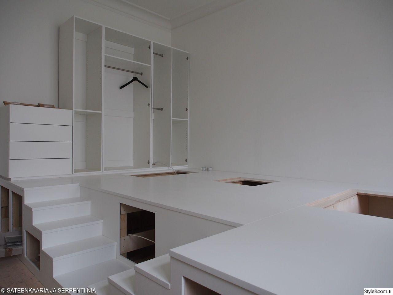 säilytys,säilytysratkaisu,säilytyskaluste,säilytyskalusteet,laatikosto,laatikot,portaikko,portaat,vaatesäilytys,vaatekaappi,vaatekaapit,vaatekomero,projekti,remontti,makuuhuone,olohuone,tila hyötykäyttöön,tilaihme,tilansäästö,tilasuunnittelu,pieni koti,pienen tilan ratkaisu