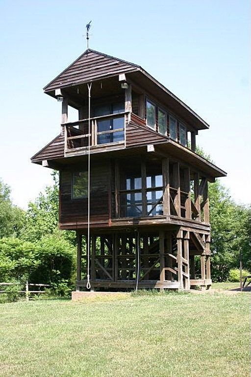 Home for sale in KY with 3 story tree house in the backyard http