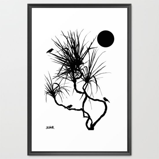 pandanus Framed Art Print