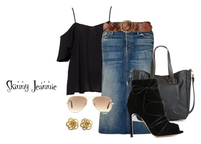 Untitled #1409 by skinny-jeannie on Polyvore featuring polyvore fashion style Mother Gianvito Rossi Big Buddha Ray-Ban Polo Ralph Lauren women's clothing women's fashion women female woman misses juniors