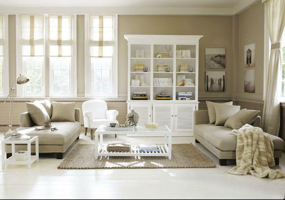 ... Starry Salón Blanco Beige Peinture Maison Pinterest ...