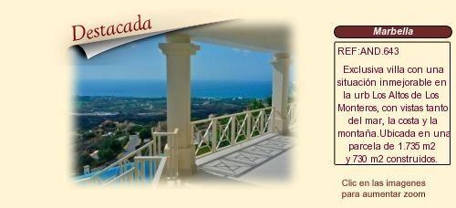 AND643 Urb alto de los Monteros. Marbella.  Chalet de lujo en venta