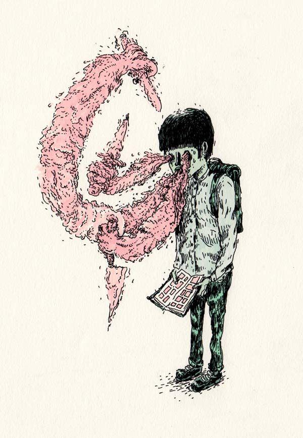 Macabre Drawings by Ghosttthead