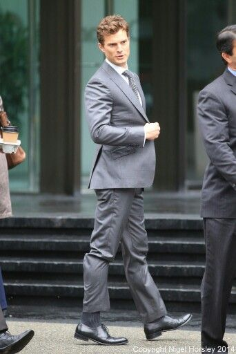 Jamie Dornan, FSOG :: heel to toe...heel to toe...heel to toe