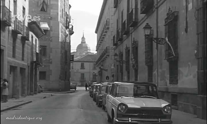 Calle del Sacramento en 1961.