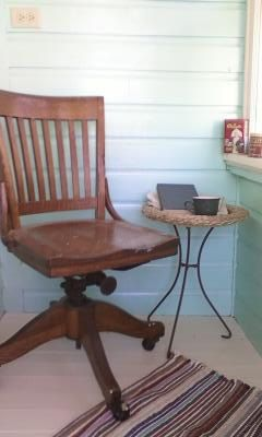 Antique Oak Desk Chair Colonial Chair Co Chicago By BettyTable, $175.00