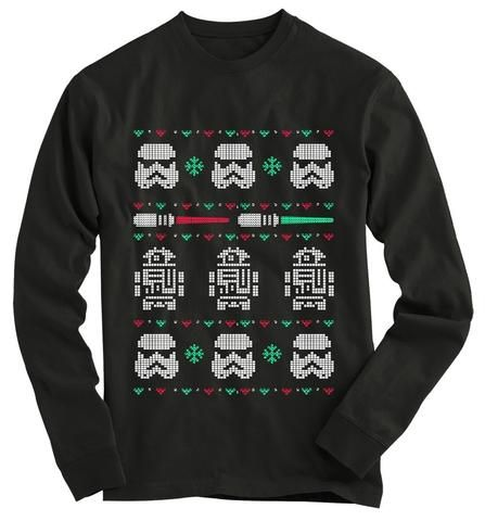 Star Wars Ugly Christmas Sweater Star Wars clothes and accessories