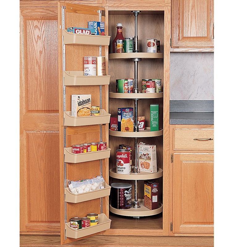 24 Polymer Full Circle Pantry Cabinet Lazy Susan Rev A Shelf Series White Finish 5 Shelf Set With Hardware Independently Rotating In 2020 Kitchen Pantry Design Pantry Design Kitchen Pantry Cabinets