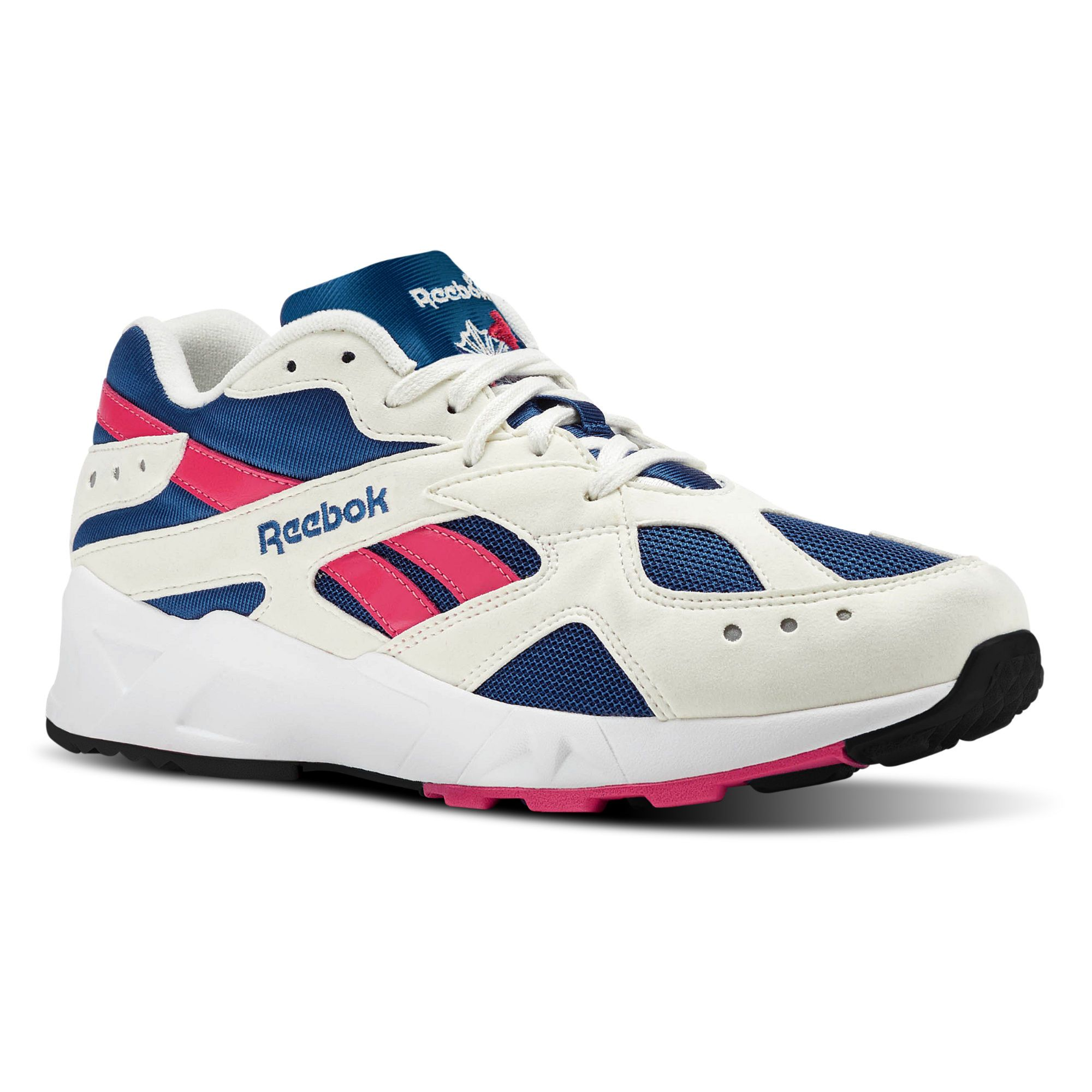metodología detergente acumular  Reebok Aztrek Shoes - White | Reebok US | White reebok, Retro running  shoes, Reebok