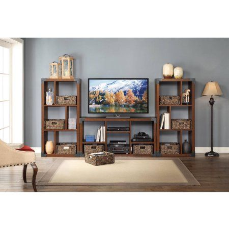 new style 0b5fd 3db63 Whalen Landon TV Stand with Cube Organizer for Flat Panel ...