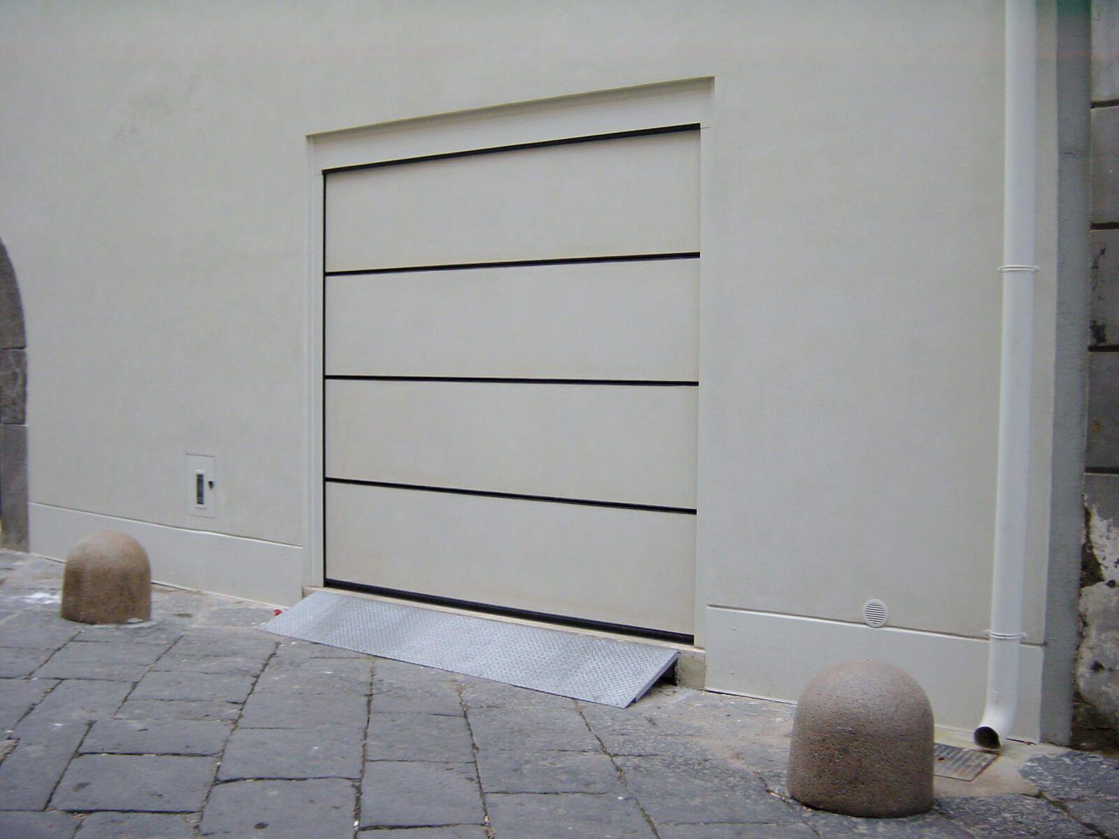 Le perle designer overhead garage doors by breda are oneofakind