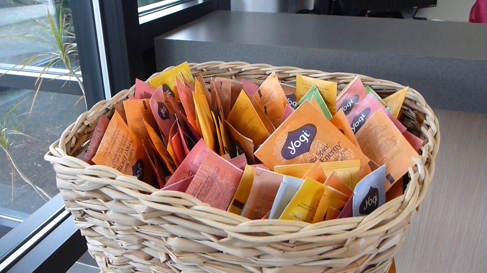 Free yogi tea samples at springfield oregon headquarters