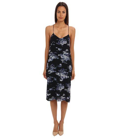 TIBI Floreale Print Slip Dress. #tibi #cloth #dresses
