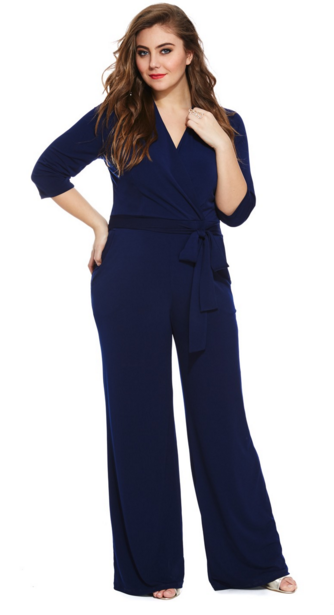 6e70c5f20a 15 Jumpsuits That Make Getting Dressed a No-Brainer. 50 Jumpsuits Every  Woman Can Wear Based on Her Body Type- Jumpsuits for Women-PLUS SIZE Repeat  after ...