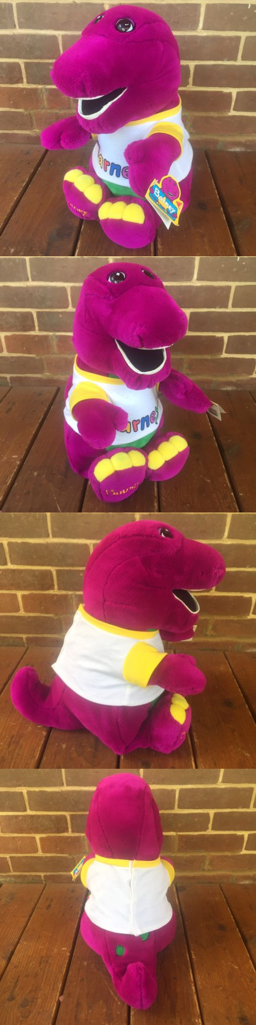 barney 2625 barney friend plush toy 12 bj u003e buy it now only