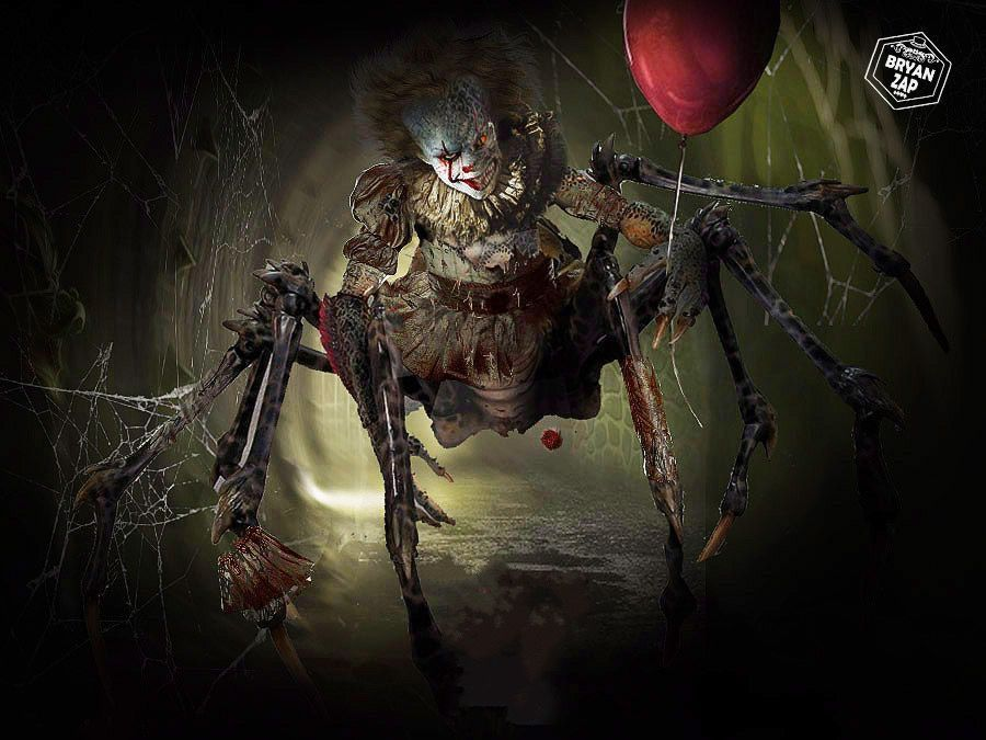 Pennywise Spider Form | Pennywise, Pennywise the dancing ...