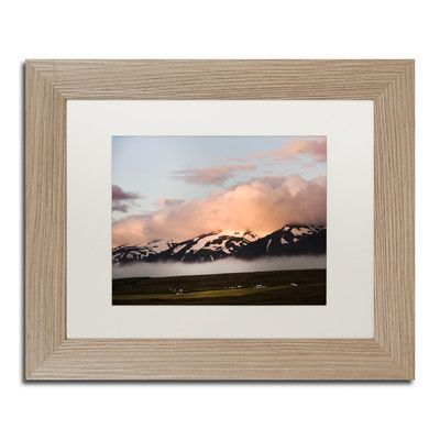 Trademark Art Til the Evening Light by Philippe Sainte-Laudy Framed Photographic Print Size: 1