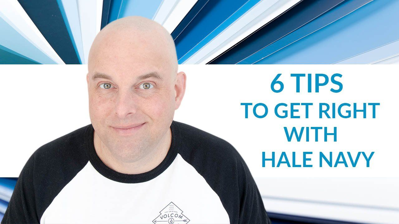 Benjamin Moore Hale Navy: 6 Tips To Get Right by Jacob Owens #halenavybenjaminmoore