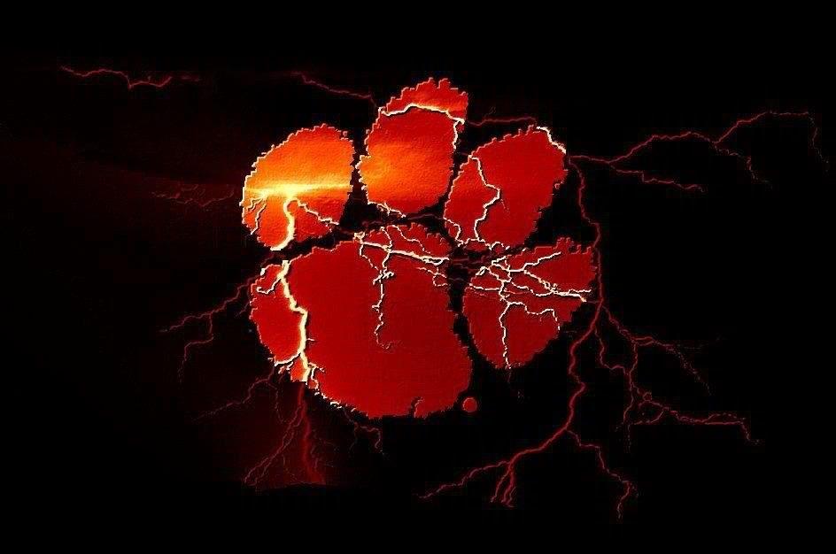Clemson Tiger Paw Clemson Tiger Paw Clemson Clemson Tigers