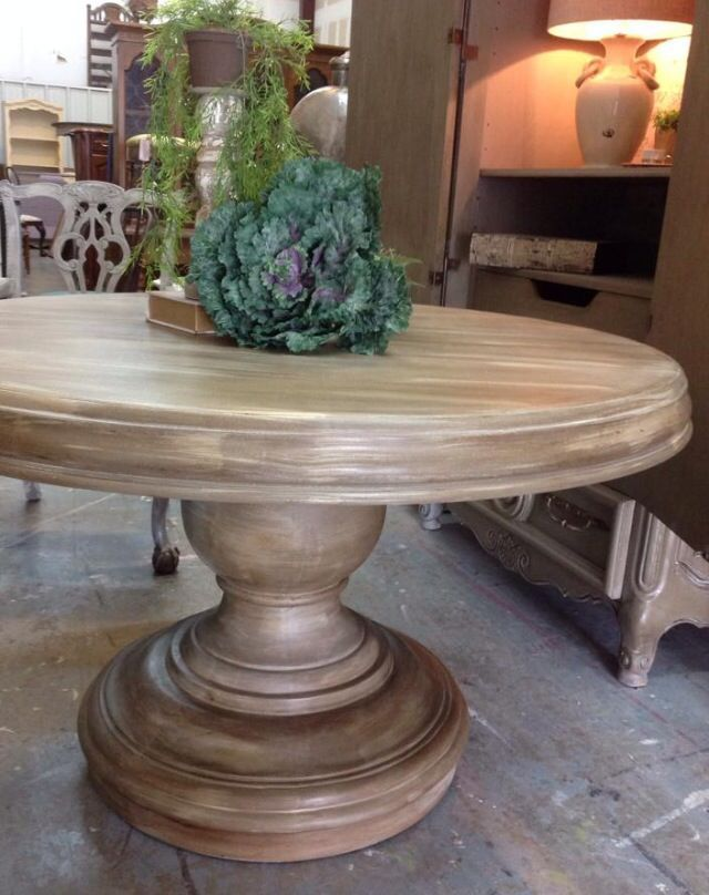 Image result for english yellow chalk paint with dark wax for Mobilia kitchen table