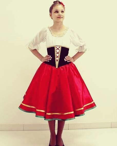 Tarantella Costume In 2019 Dance Outfits Dance Costumes