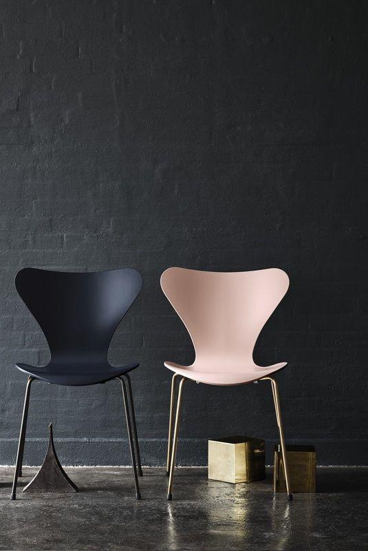 Fritz Hansen Design Stoelen.Limited Edition Vlinderstoel Arnejacobsen Serie7 Design Stoel