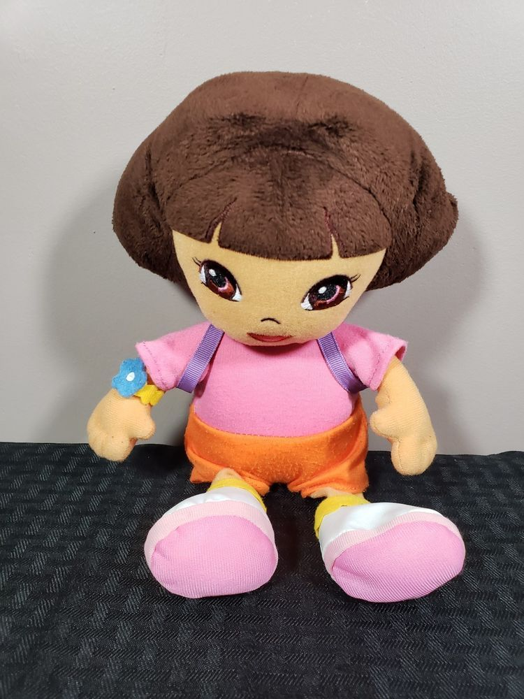 Dora The Explorer Ty Plush Beanie Baby with Backpack Clean Nickelodeon   Nickelodeon 1dc17de2b7a