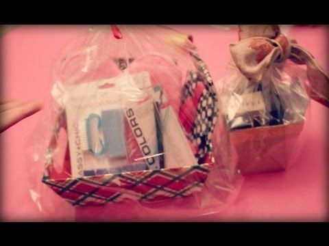 Diy holiday gift baskets using dollar tree beauty products diy holiday gifts solutioingenieria Gallery