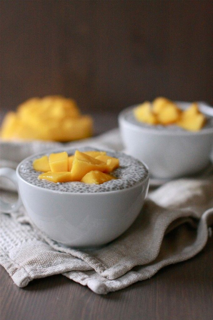 Coconut Chia Seed Pudding Vegan Food For The Soul Pinterest