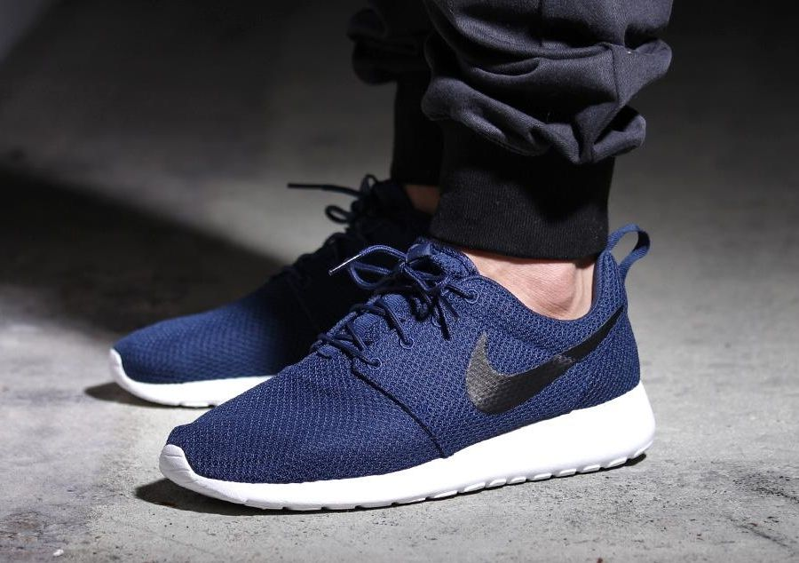 nike roshe one men's midnight navy