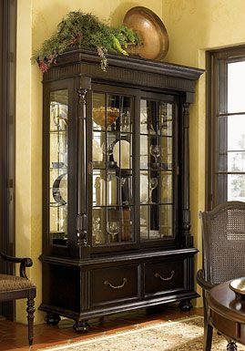 Tommy Bahama Home Kingstown Point Reyes Display Cabinet
