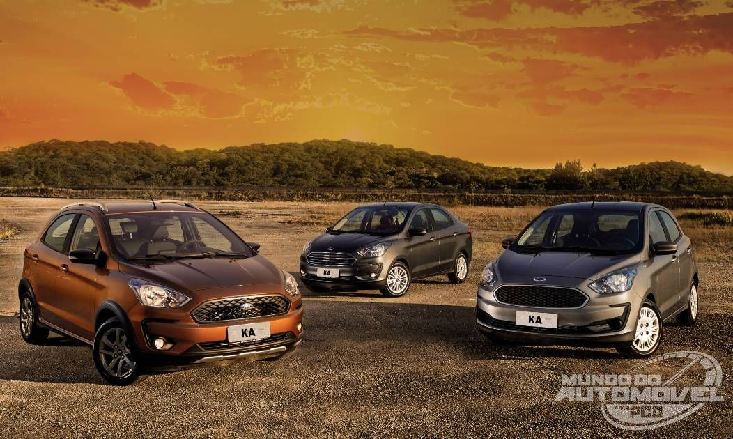 Vendas Diretas Em Abril Ka Hatch E Sedan No Top 5 Ford Seda