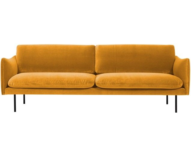Samt Sofa Moby 3 Sitzer Sofa Furniture Home Decor