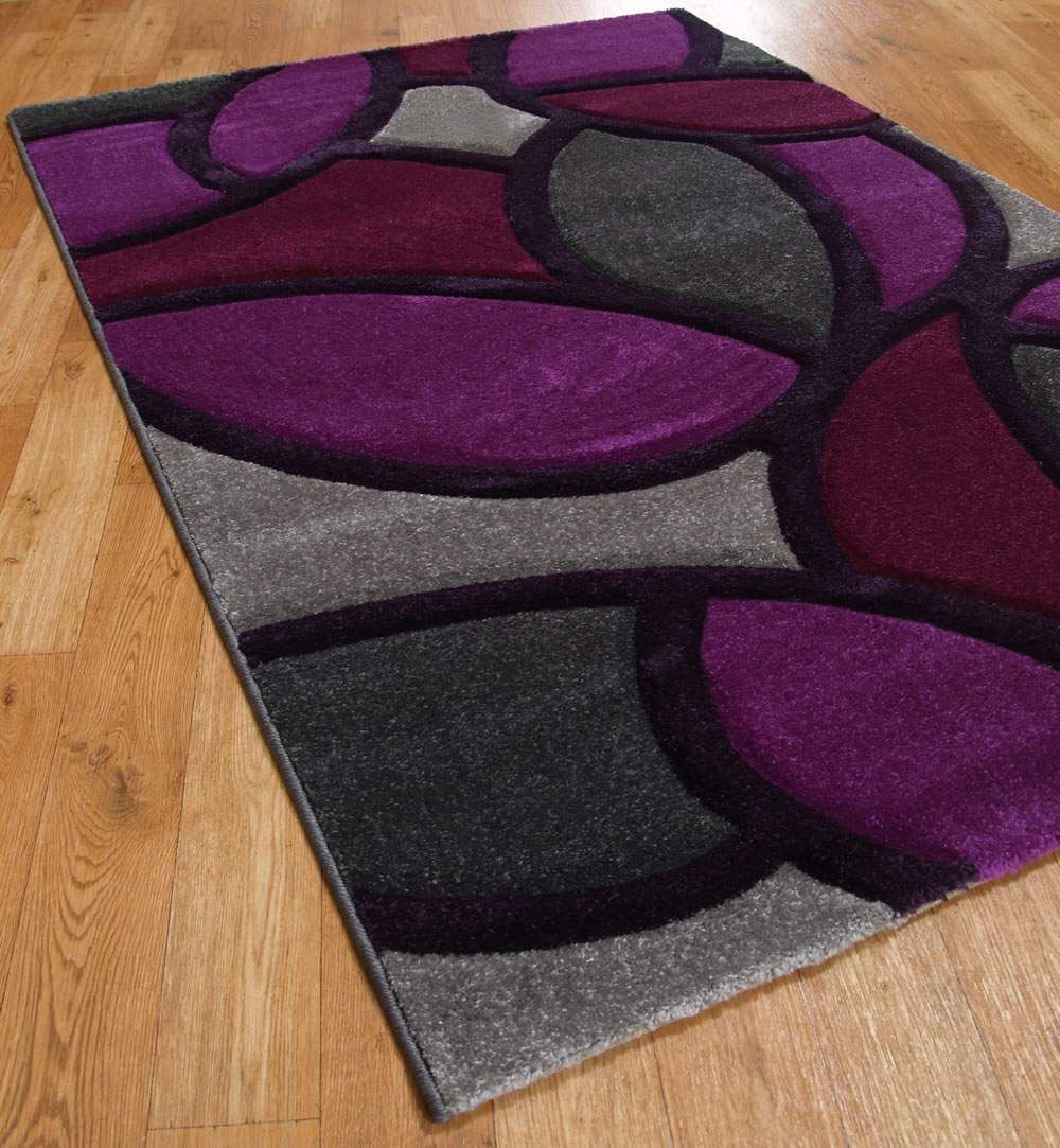 Black And Purple Bathroom Rugs Funky Paving Rugs In
