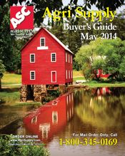 Agri Supply request a copy of our Current Buyers Guide Catalog