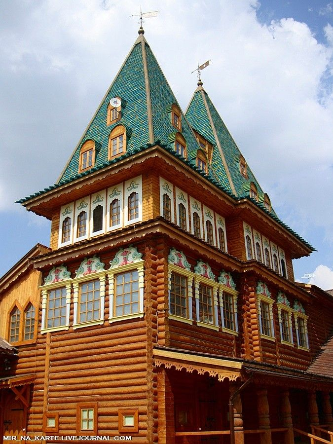 Коломенский дворец.-Kolomna Palace